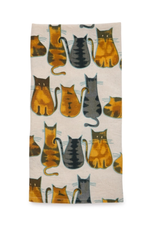TTV USA Cats About It Tea Towel