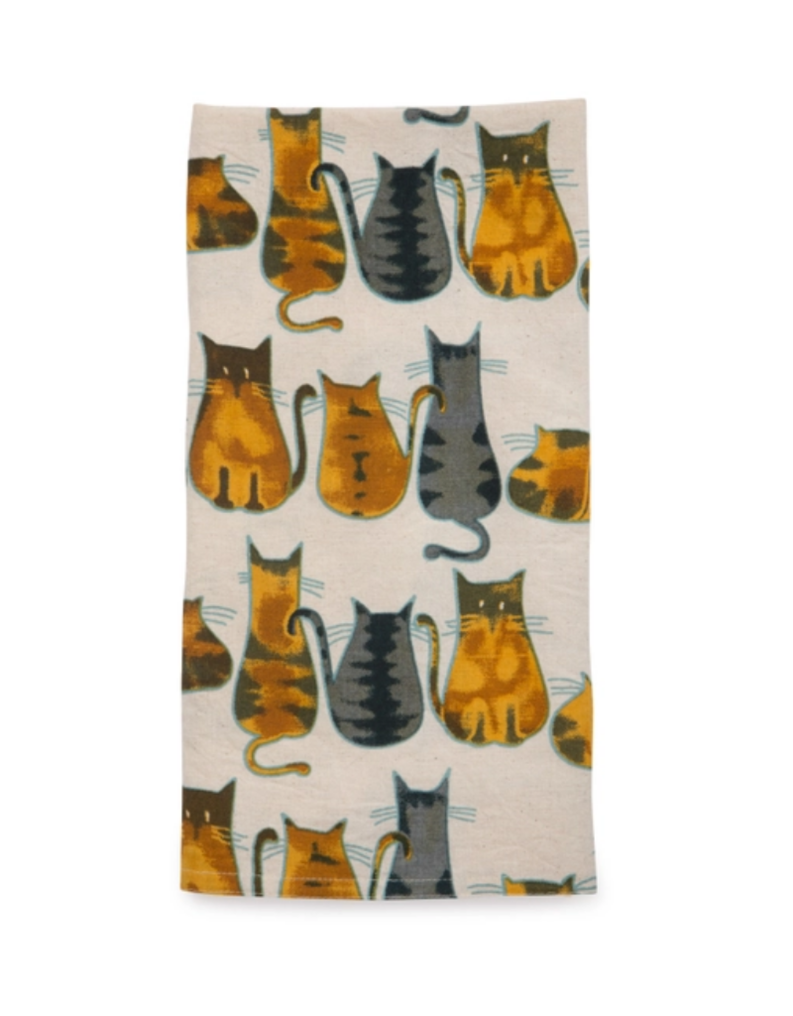 TTV USA Cats About It Tea Towel - India