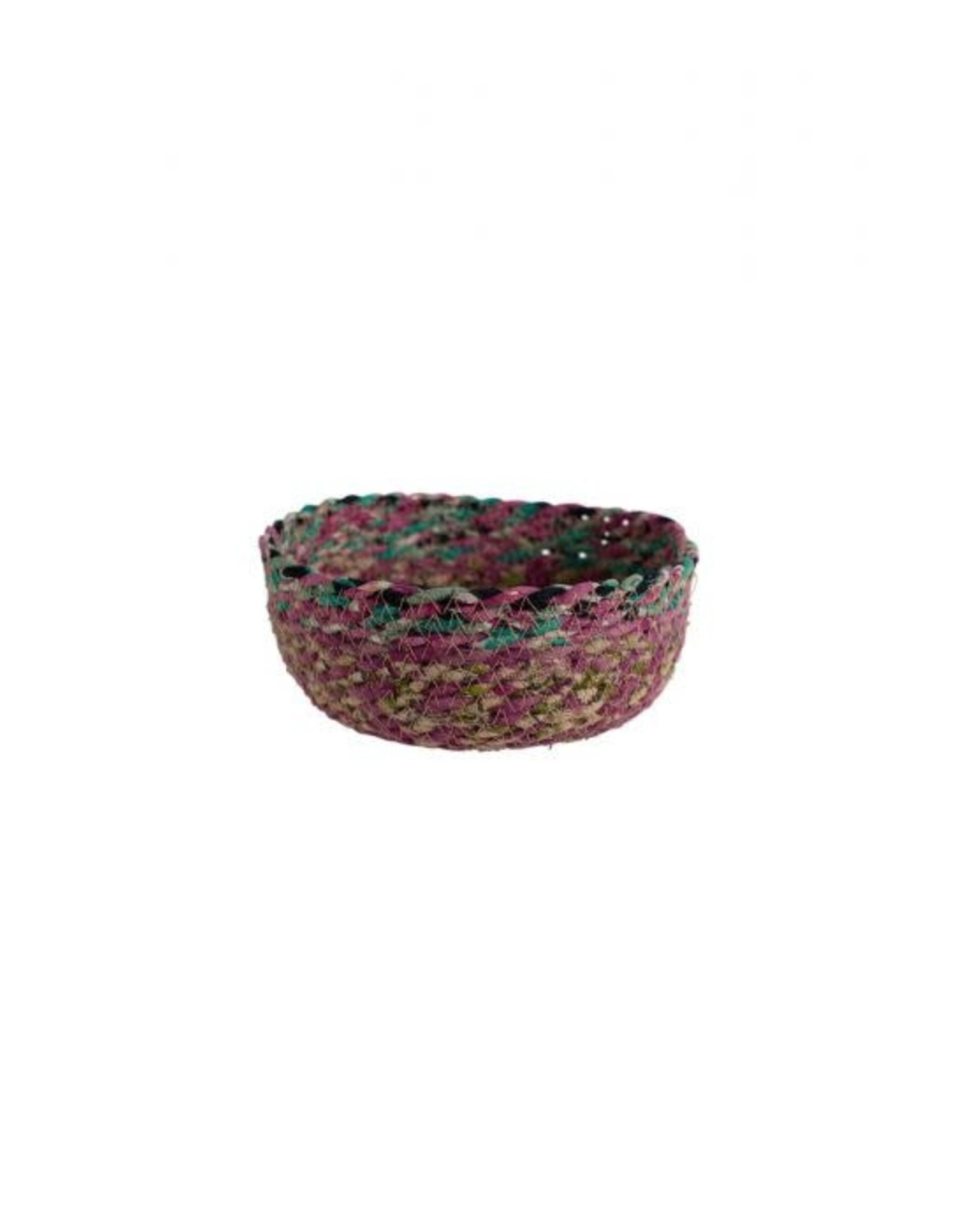 TTV USA Swirling Sari Basket  Small (Assorted Colours)