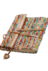 TTV USA Sari & Leather Travel Journal