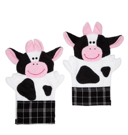 TTV USA Cow Wash Mitten