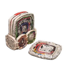 TTV USA Recycled Paper Coasters