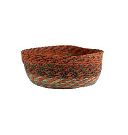 TTV USA Swirling Sari Basket (L) (Assorted Colours)