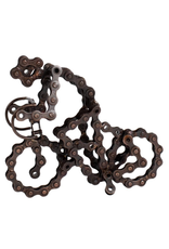 TTV USA Recycled Bike Chain Sculpture