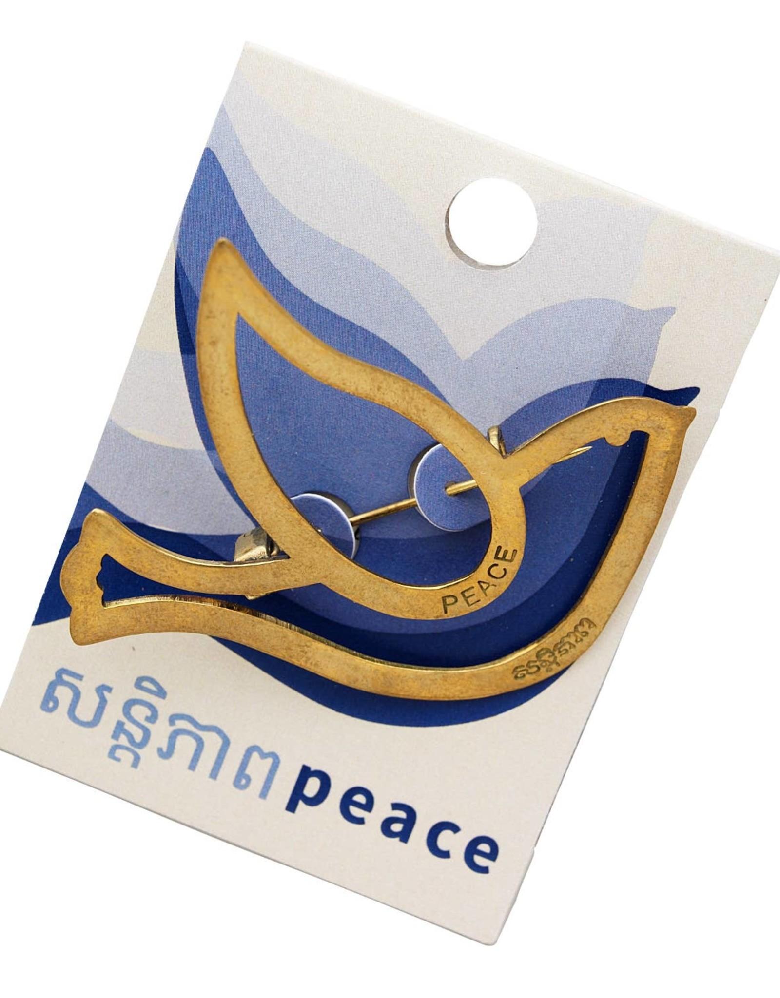 TTV USA Bombshell Peace Dove Pin