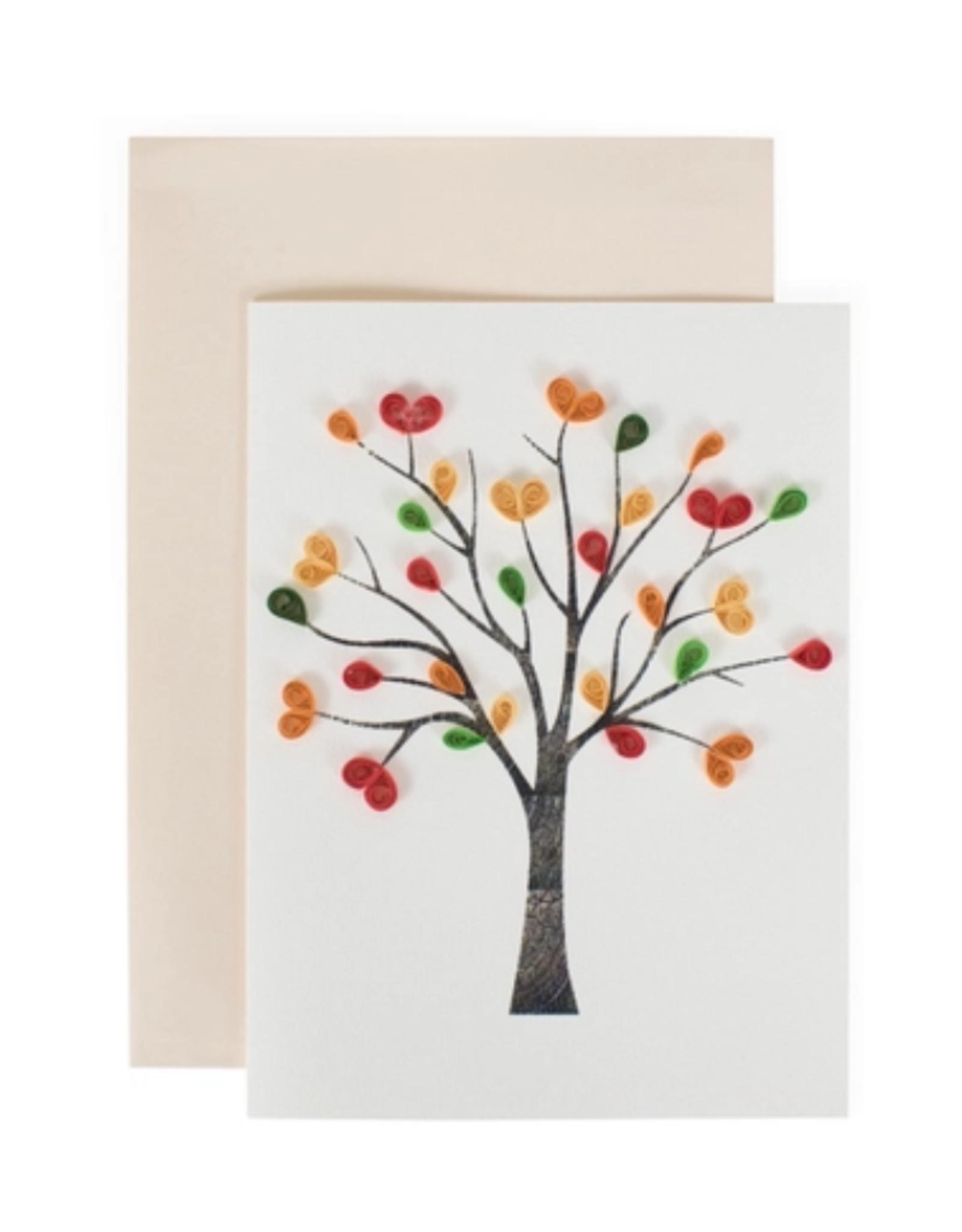 TTV USA Tree of Love Greeting Card