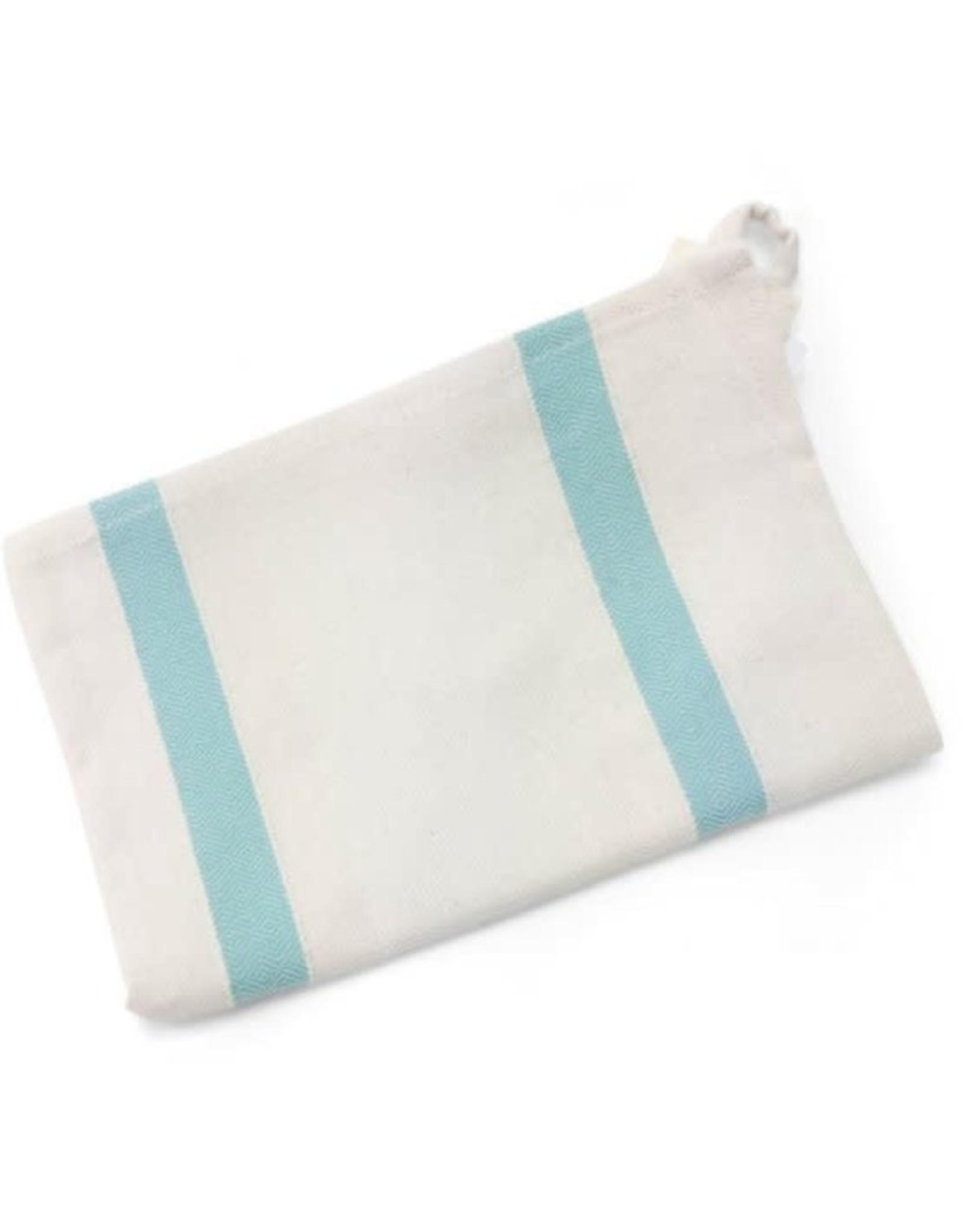 Blue Striped Tea Towel