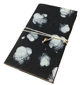 Floating Clouds Batik Corded Journal
