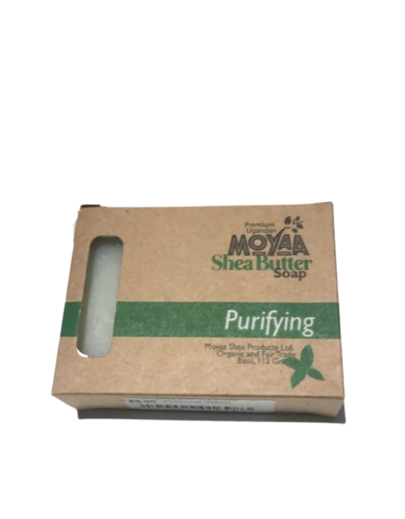 Moyaa Shea Butter Purifying (Basil) Soap