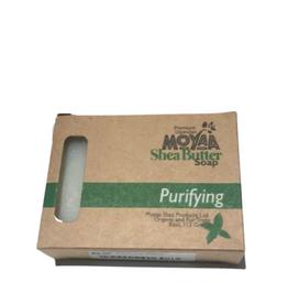 Moyaa Shea Butter Purifying (Basil) Soap - Uganda