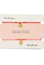 Heart bracelet built for two