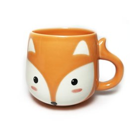 Mini Fox Ceramic Mug