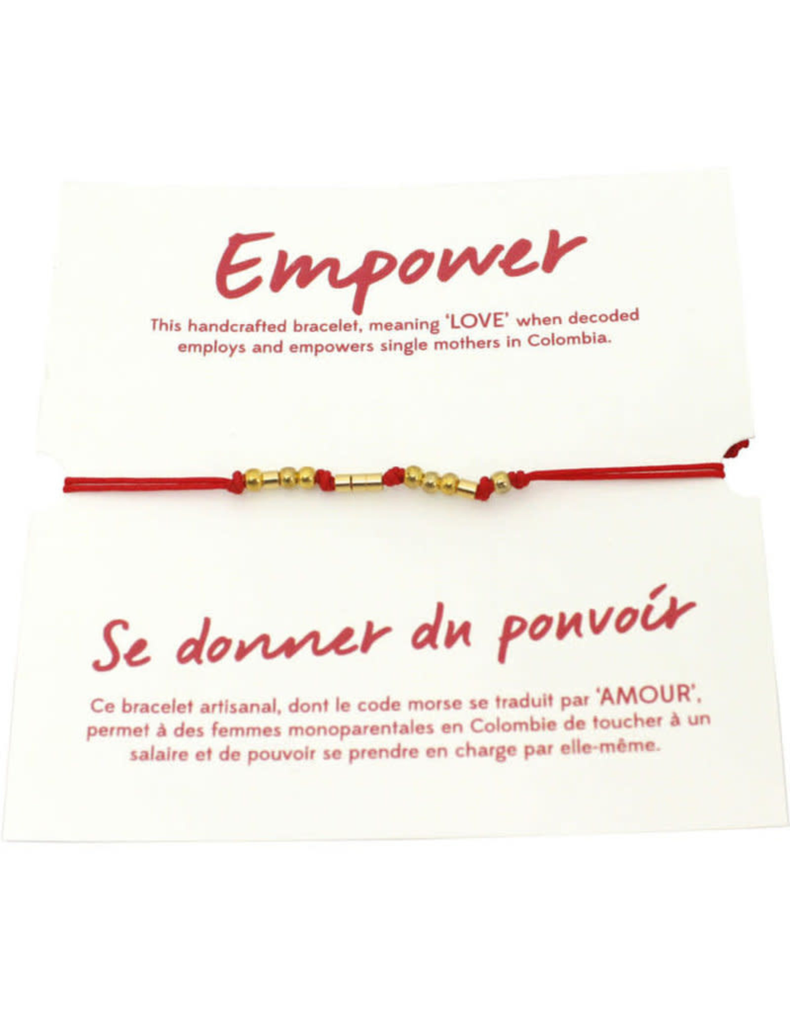 Morse Code LOVE Bracelet