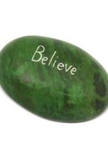 Believe Paperweight (Green)