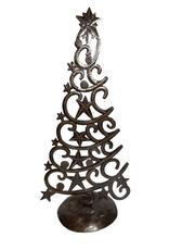 Christmas Tree with Stars Haitian Metal
