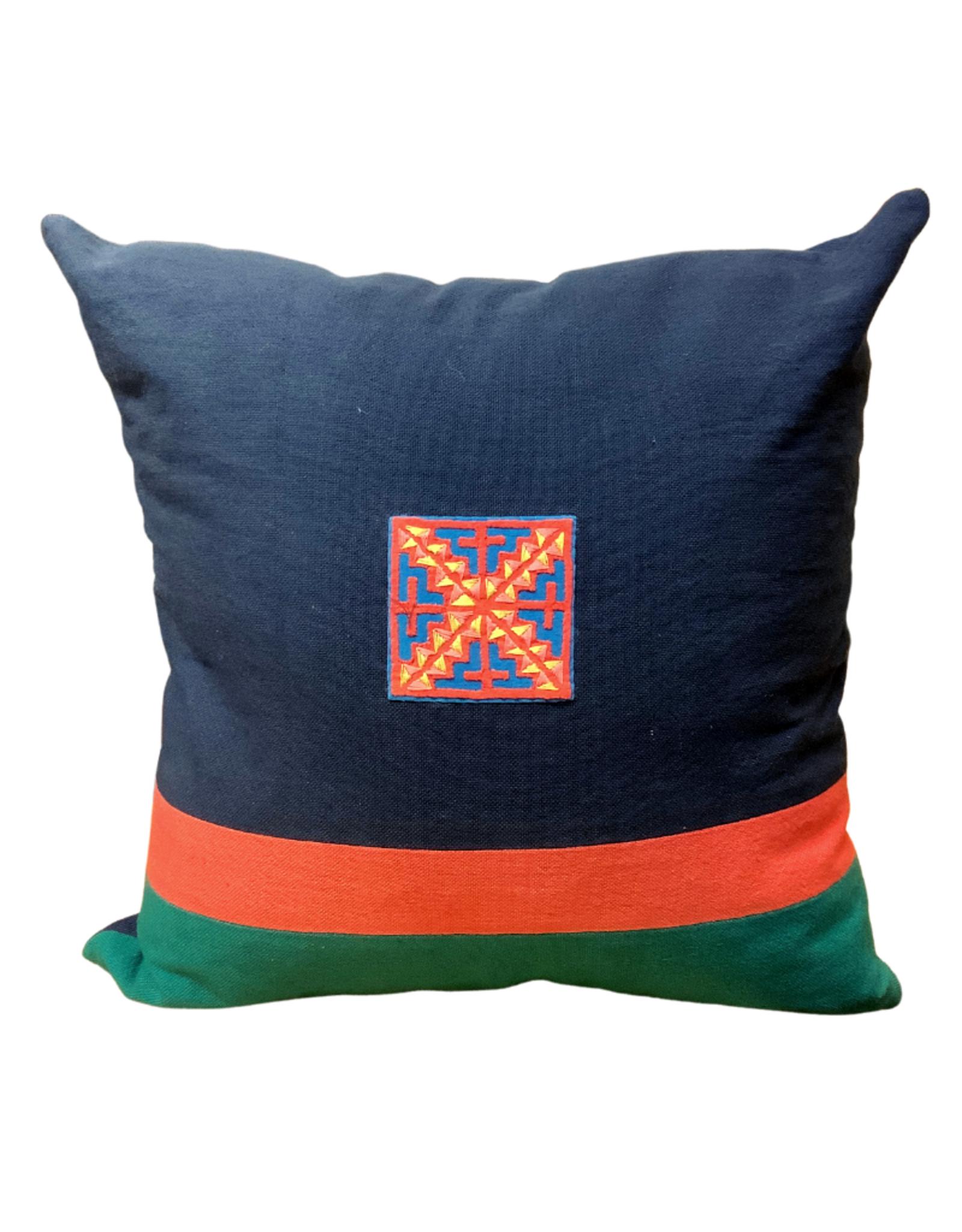 Ocean Medallion Cushion