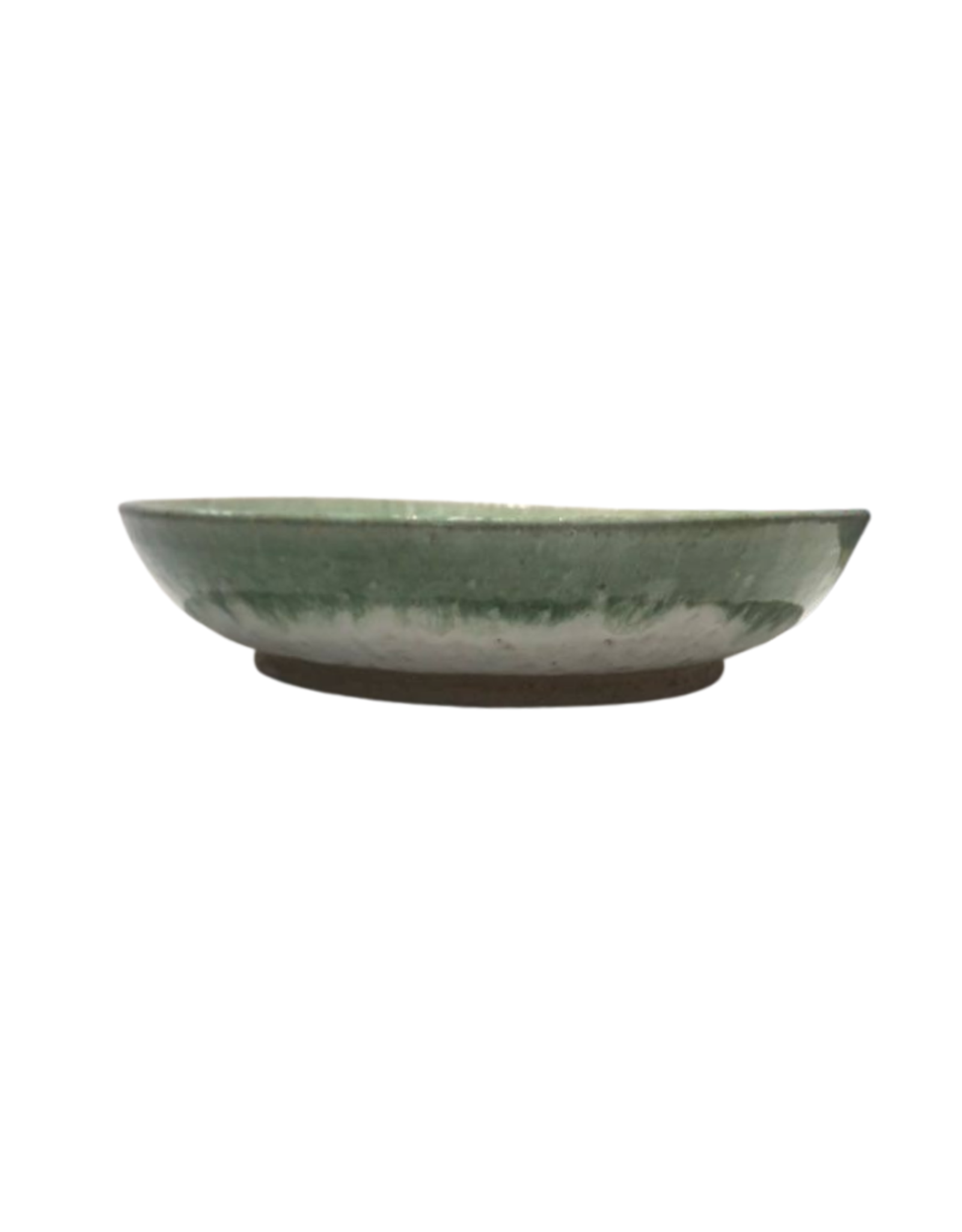 Bowl Ceramic Cream/Green Large