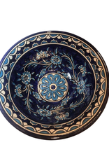 Bowl Floral Blu/White Ceramic