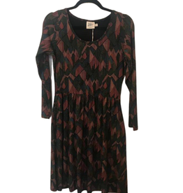 Rosalie Print Dress M
