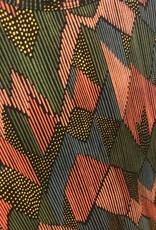 Moss Print Dress