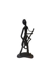 Sculpture Guitar Player