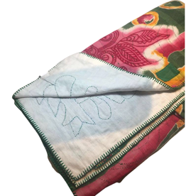 Autumn Sari Throw