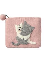 TTV USA Kitty Love Felt Purse