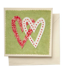 TTV USA Linked Hearts Greeting Card
