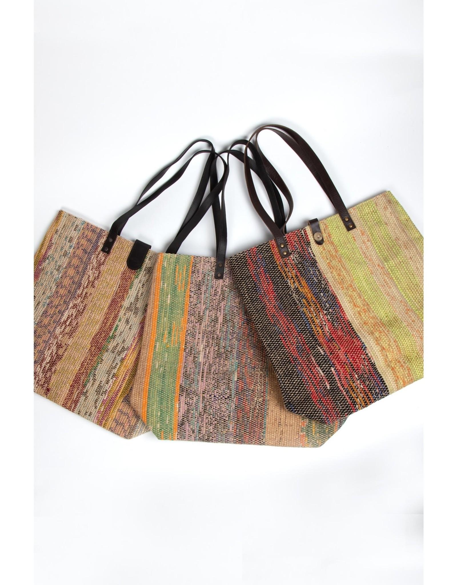 TTV USA Sari Striped Tote (Assorted Colours)
