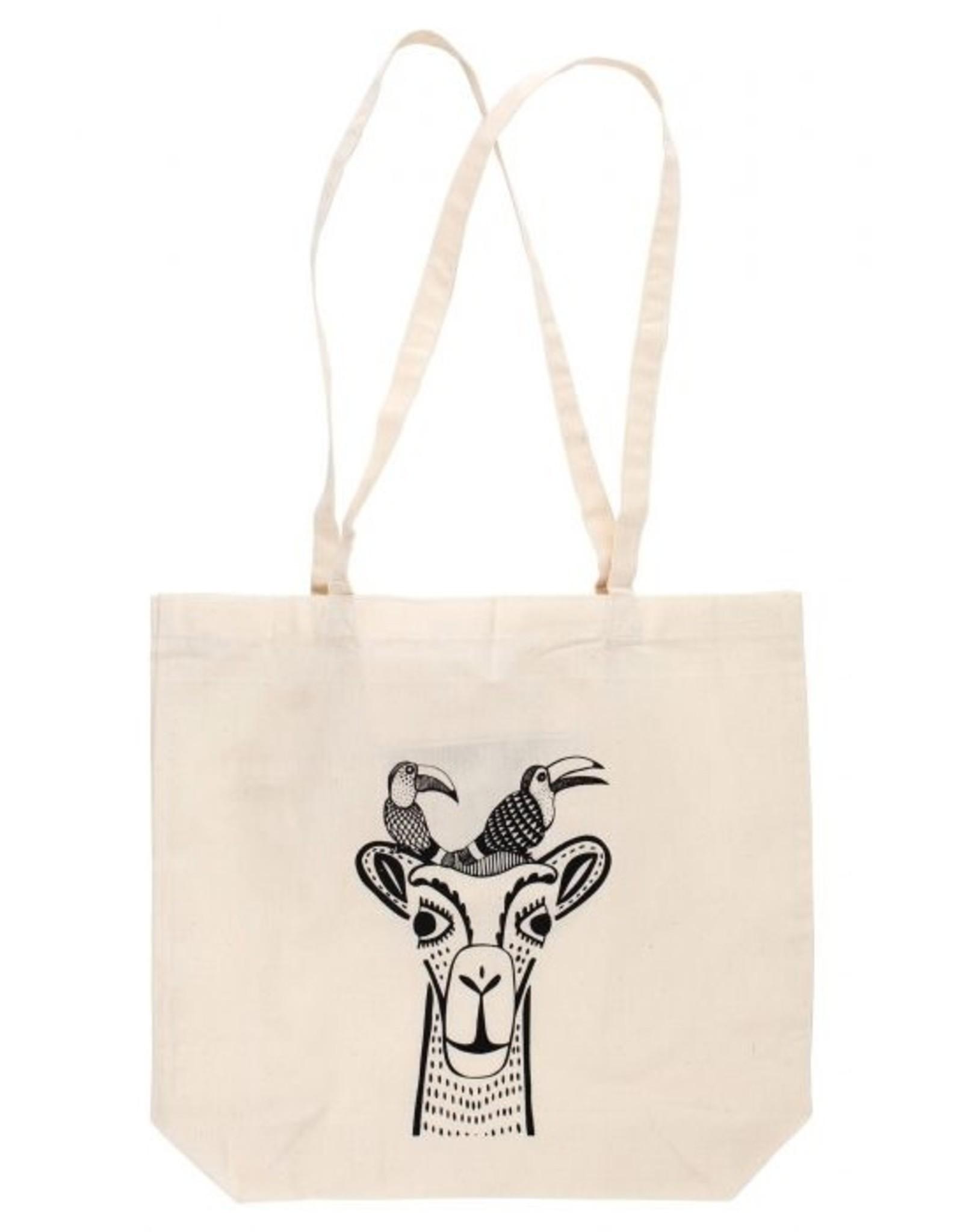 TTV USA Camel & Birds Shopping Bag