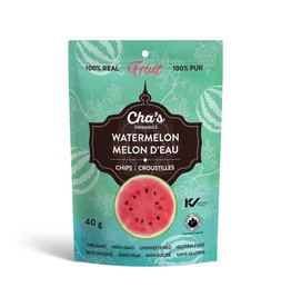 Cha's Organics Watermelon Chips, 40g