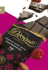 Divine Chocolate Divine Dark Chocolate with Raspberries