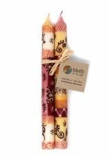 Global Crafts Candles, Halisi Design Handpainted Dinner (Pair)