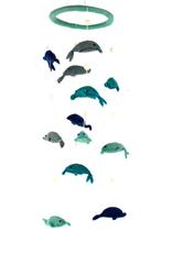 Global Crafts Mobile, Dolphins Felt Nursery