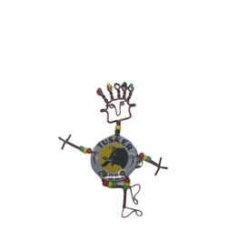 Takataka Tusker Beer Cap Dancing Person Pin
