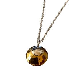 TTV USA Necklace, Duet Silver & Gold Plt