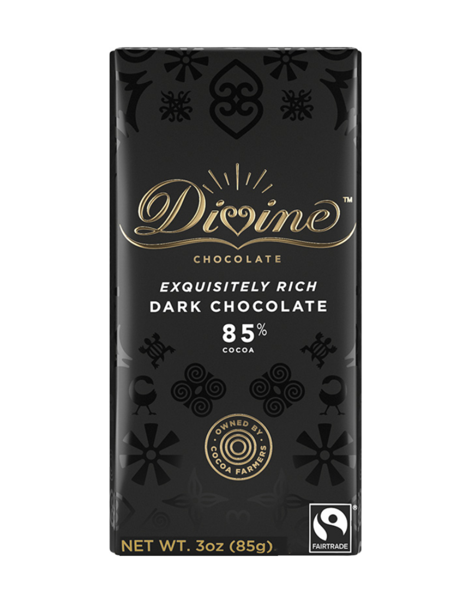 Divine Chocolate Divine Dark Chocolate 85%