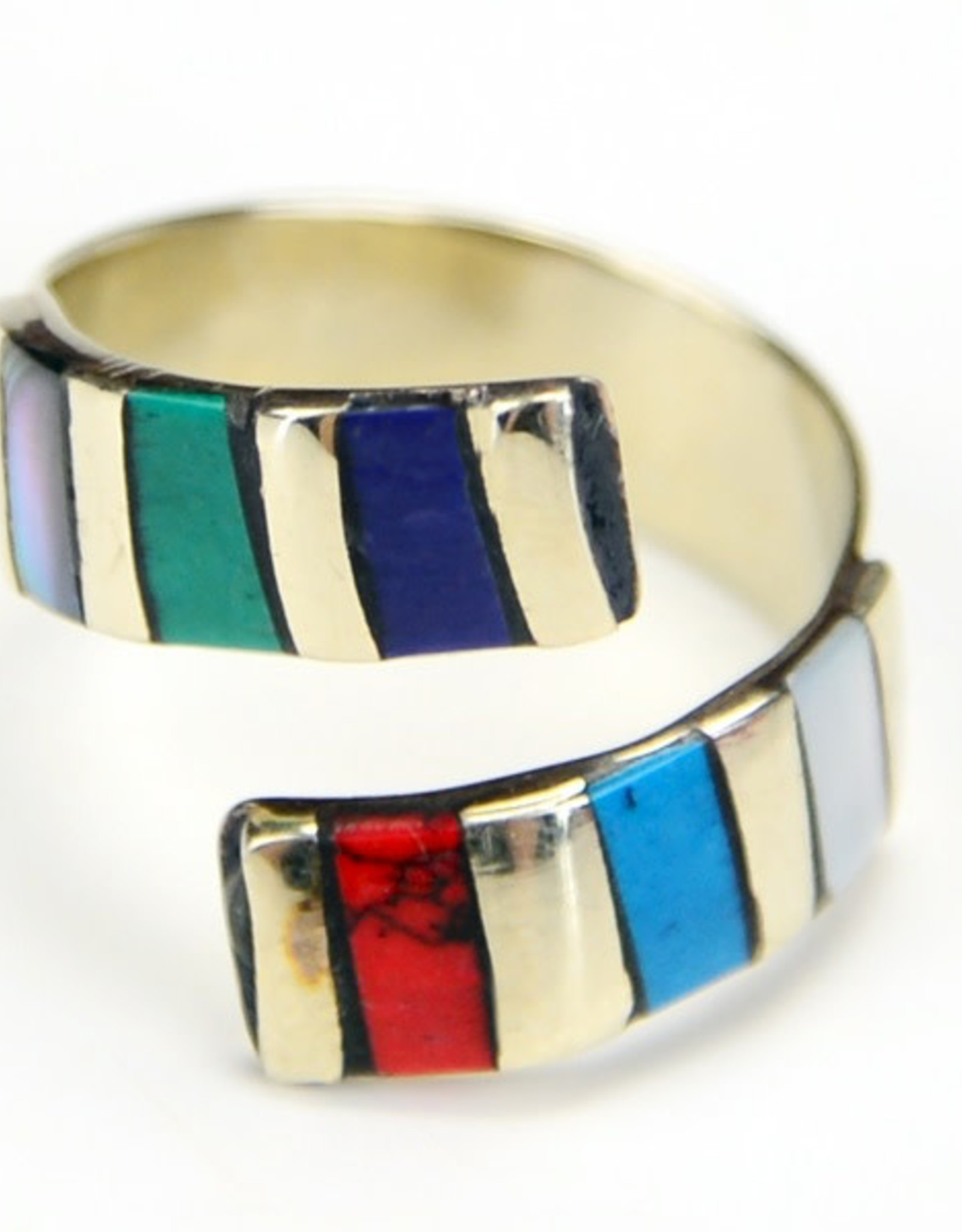 Minga Ring Striped