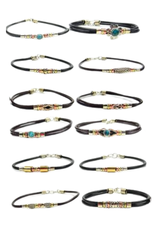 Minga Bracelet Simple Mixed Metal (Assorted Styles)