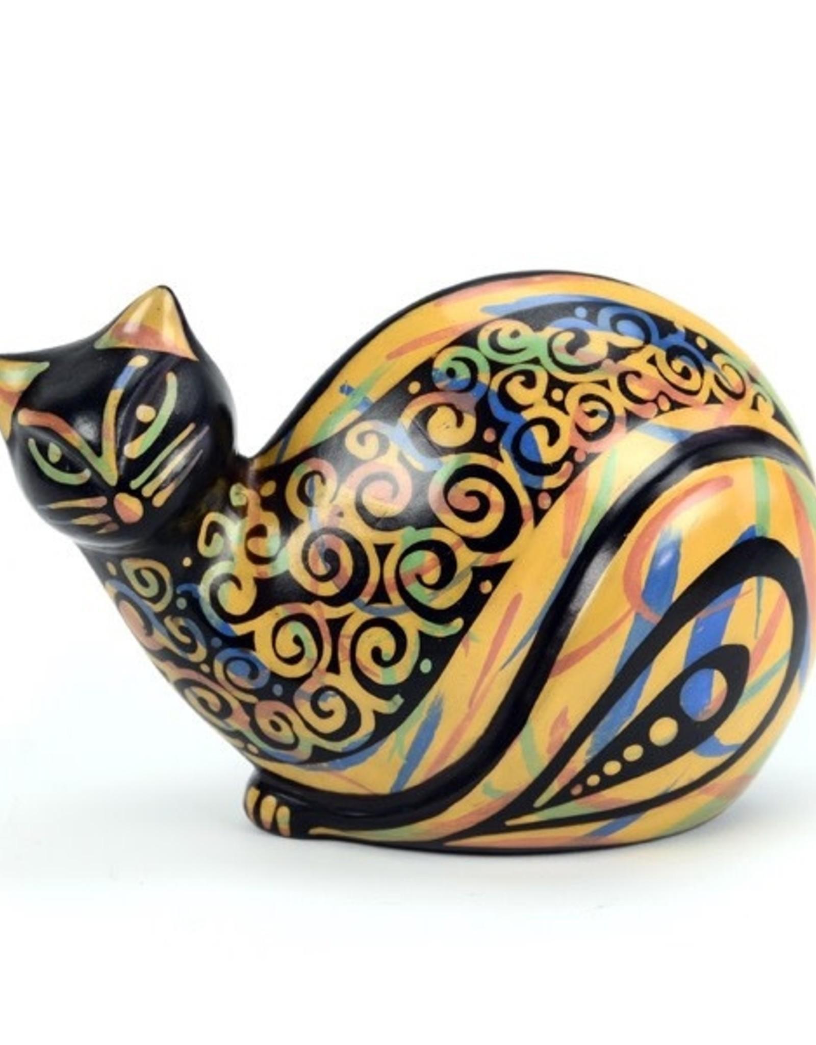 Minga Cat Figurine Chulucanas