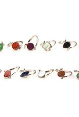Minga Ring Mini Flip Stone (Assorted Styles/Sizes)