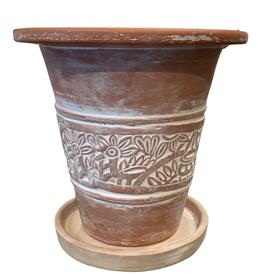 Secret Garden Terracotta Planter (Medium)
