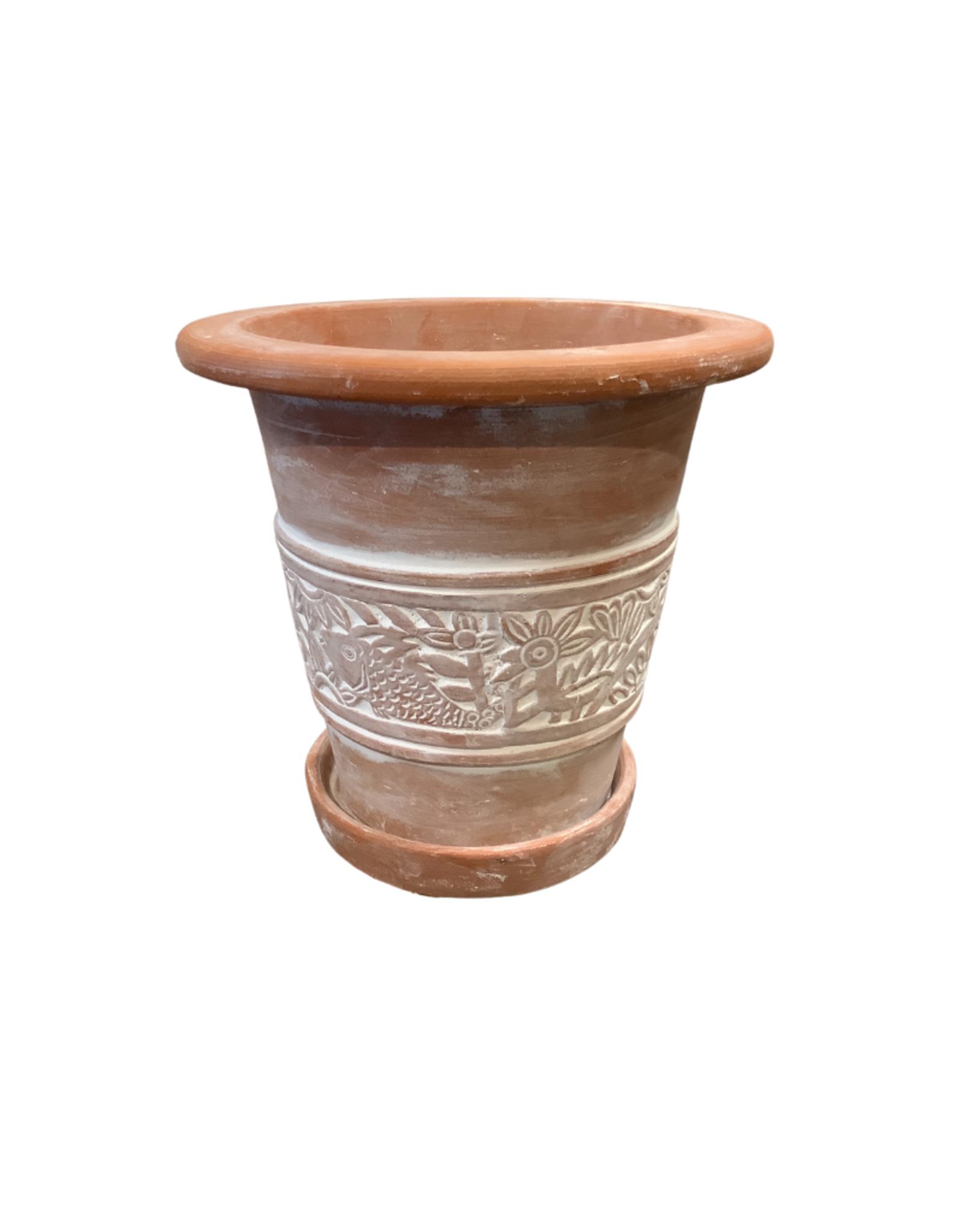 Secret Garden Terracotta Planter (Small)