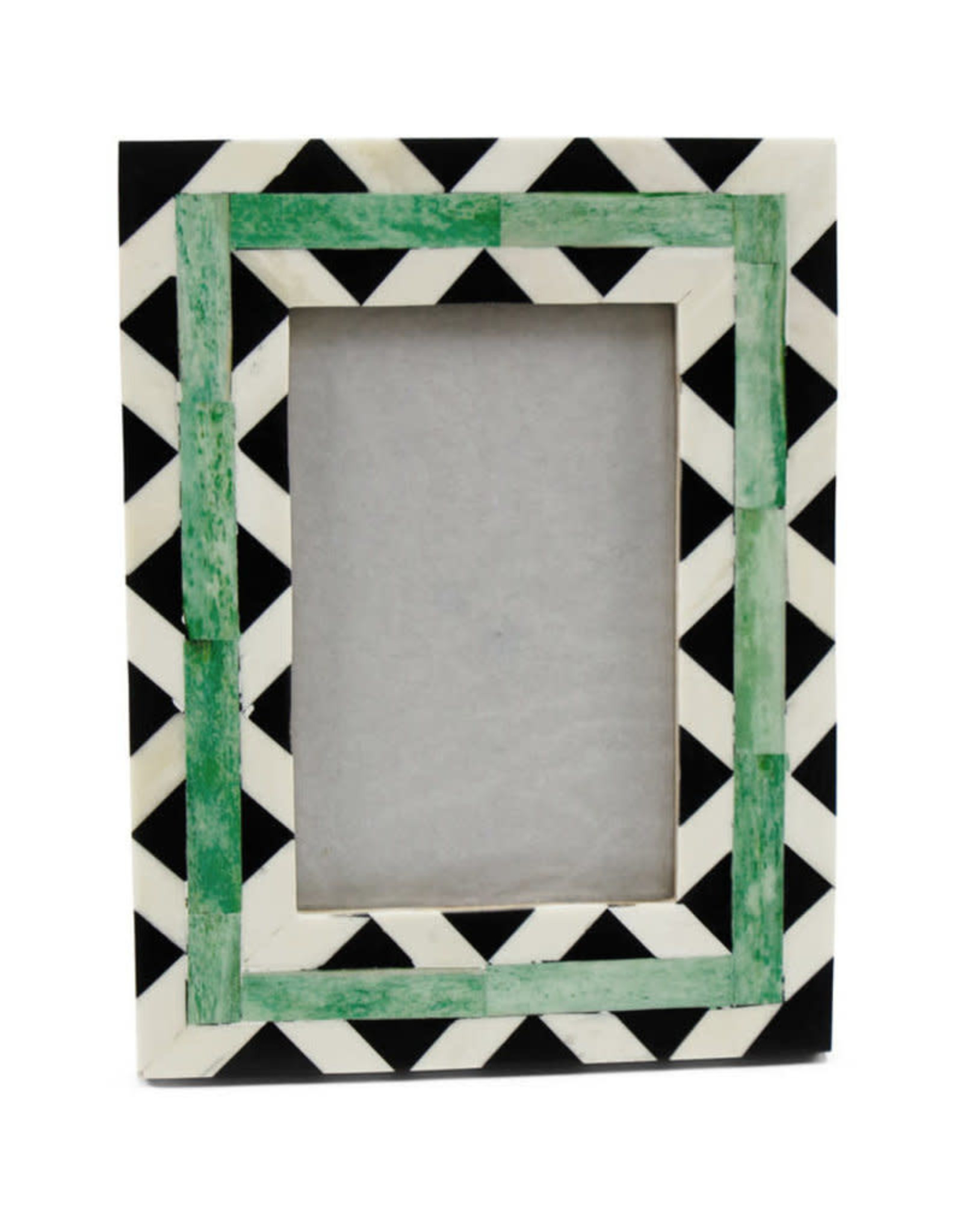 Asha Handicrafts Black Triangle Frame