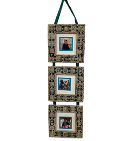 Coiled Paper Squares Frame