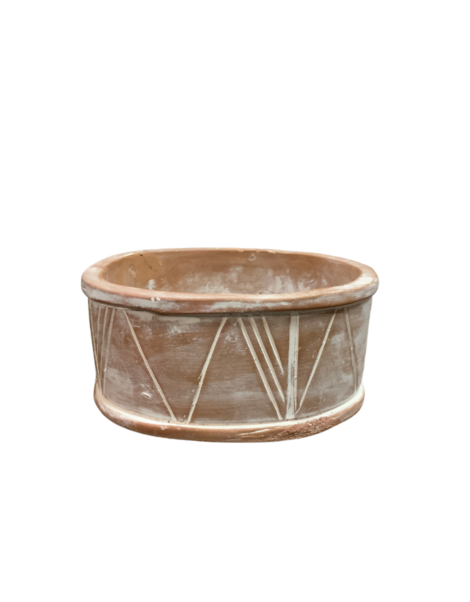 Geo Terracotta Planter (Small)