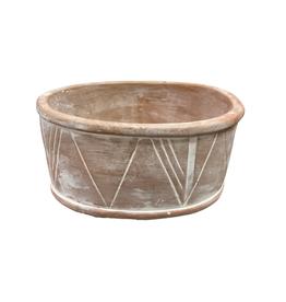 Oval Terracotta Planter (Medium)