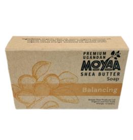 Moyaa Shea Butter Shea Soap Balancing,  Orange