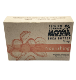 Moyaa Shea Butter Shea Soap Nourishing, Unscented