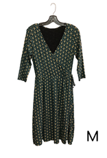 Wrap Dress Callie Teal M